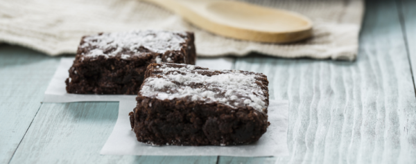 Brownie mit Likör 43